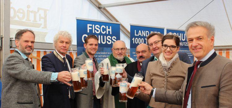 """Eröffnung der """"Erlebniswochen Fisch"""" 2018 in Kleinsterz"""
