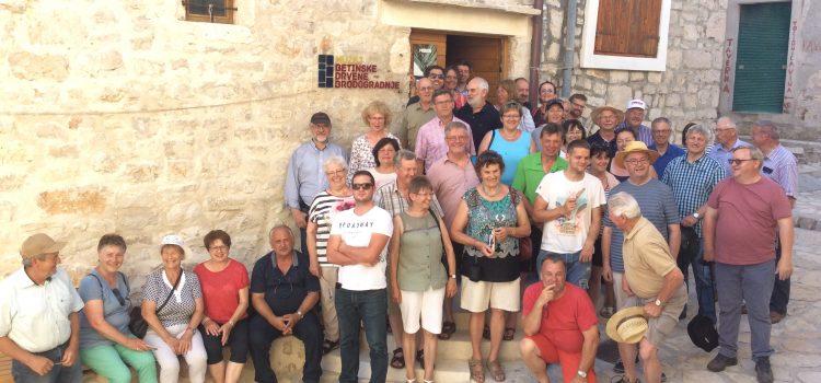 ARGE Fisch auf Weiterbildung in Kroatien