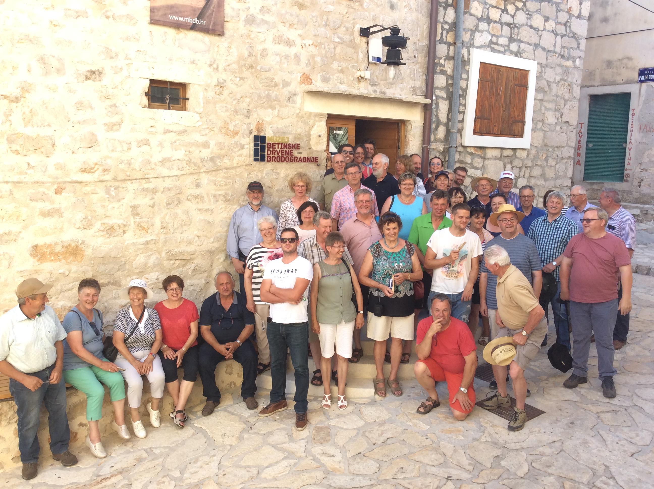Lehrfahrt Kroatien Gruppenbild